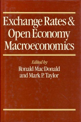 9780631162384: Exchange Rates and Open Economy Macroeconomics