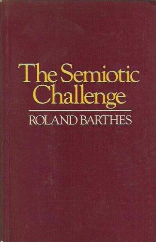 9780631162445: The Semiotic Challenge