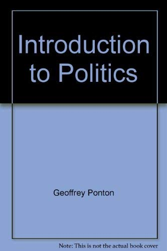9780631163053: Introduction to Politics