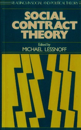 9780631163145: Social Contract Theory (Readings in Social and Political Theory)
