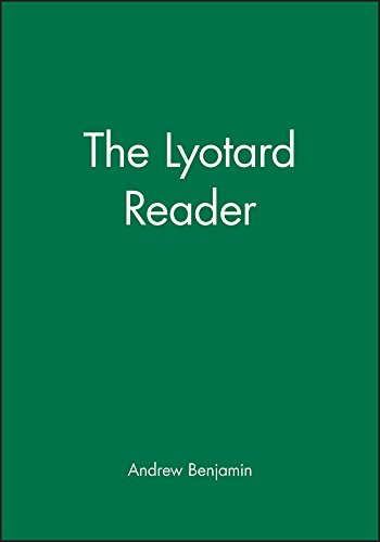 9780631163398: LYOTARD READER (Blackwell Readers)