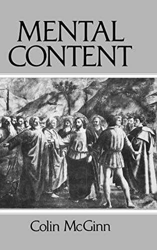9780631163695: Mental Content