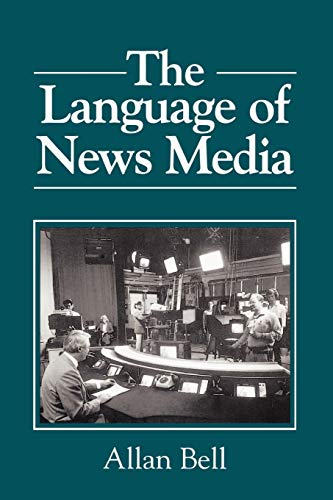 9780631164357: The Language of News Media