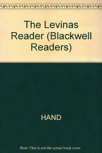 9780631164463: The Levinas Reader (Blackwell Readers)