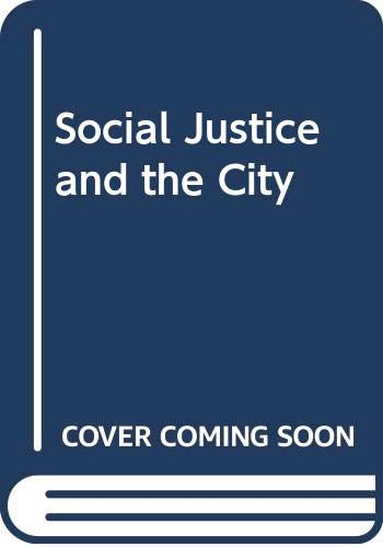 9780631164760: Social Justice and the City