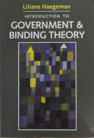 9780631165637: Introduction to Government and Binding Theory (Blackwell Textbooks in Linguistics)