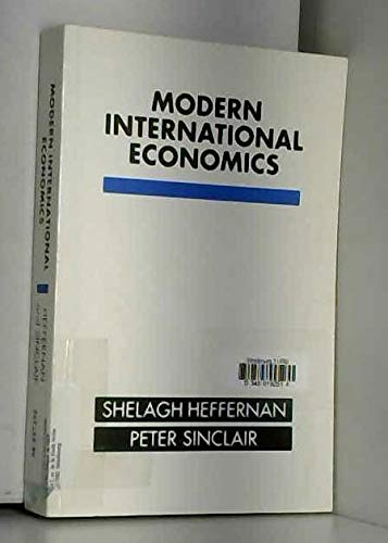 9780631166047: Modern International Economics