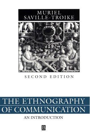9780631166788: Ethnography of Communication (Language in Society)