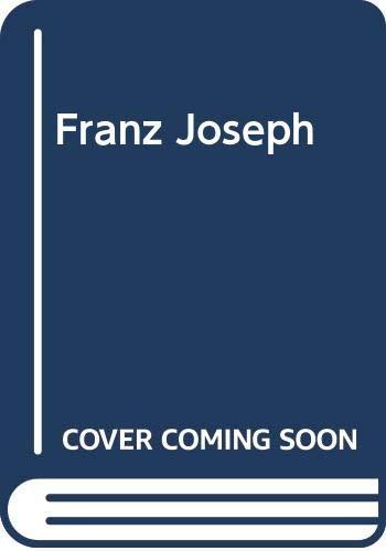 9780631167785: Franz Joseph