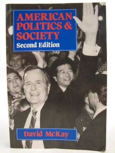 9780631167815: American Politics and Society