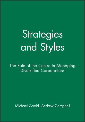 9780631168461: Strategies and Styles (LBS Centre for Business Strategy)