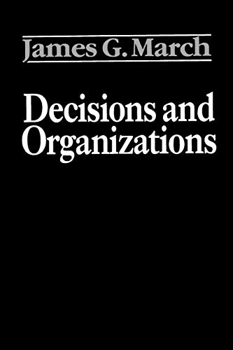 9780631168560: Decisions and Organizations