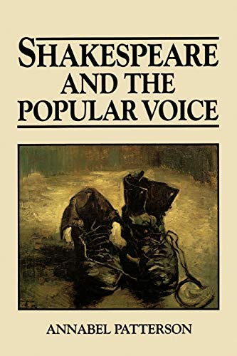 9780631168737: Shakespeare and the Popular Voice