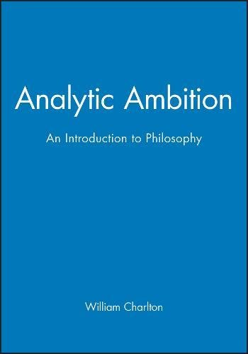 9780631169352: Analytic Ambition: An Introduction to Philosophy
