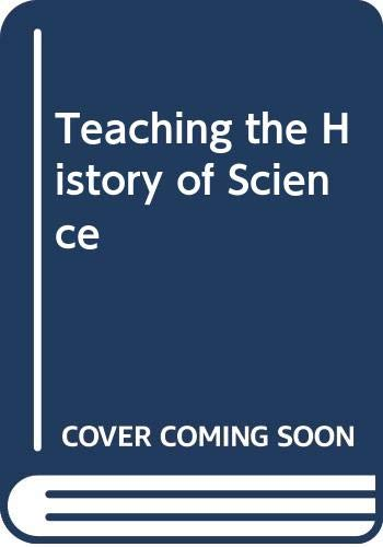 9780631169789: Teaching the History of Science