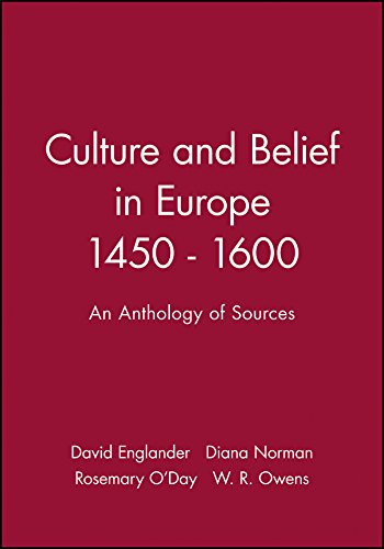 9780631169918: Culture and Belief in Europe 1450-1600