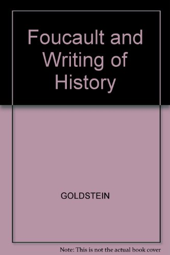 9780631170075: Foucault and the Writing of History