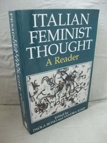 9780631171164: Italian Feminist Thought: A Reader