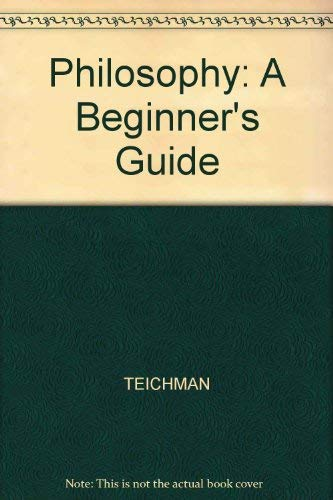9780631171294: PHILOSOPHY:A BEGINNER'S GUIDE