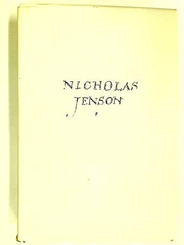 9780631173946: Nicholas Jenson and the Rise of Venetian Publishing in Renaissance Europe