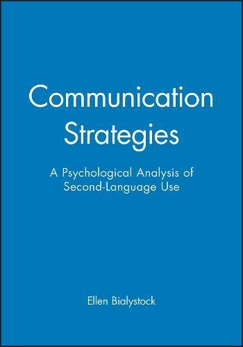 9780631174585: Communication Strategies: A Psychological Analysis of Second-Language Use