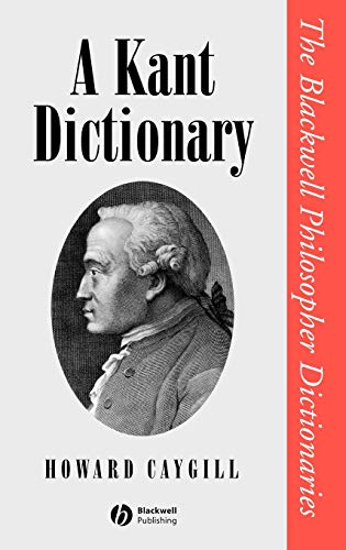 9780631175346: A Kant Dictionary