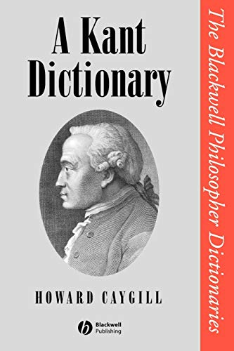 9780631175353: A Kant Dictionary