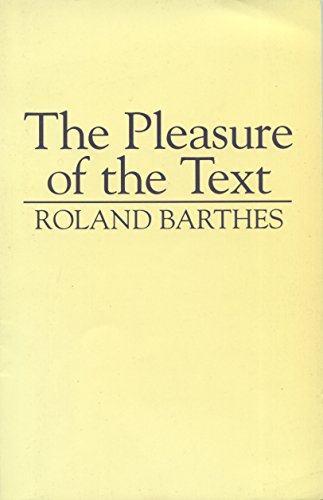 9780631176114: The Pleasure of the Text