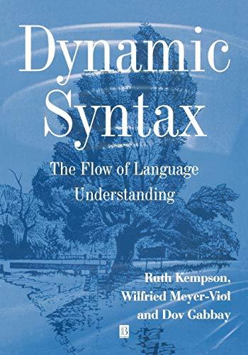 9780631176138: Dynamic Syntax