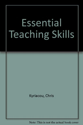 9780631176473: Essential Teaching Skills