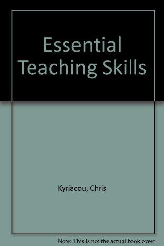 9780631176473: Essential Teaching Skills