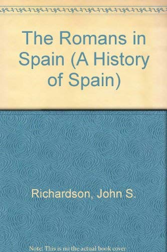 9780631177067: The Romans in Spain (A History of Spain)