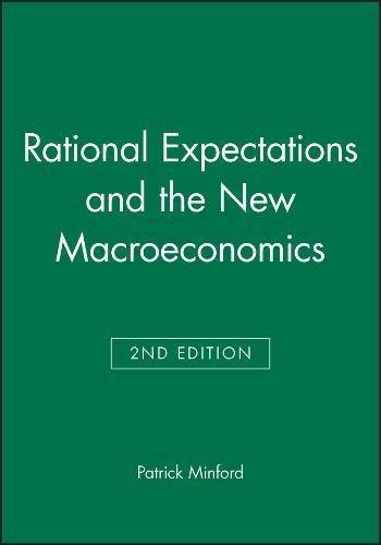 9780631177883: Rational Expectations Macroeconomics: An Introductory Handbook