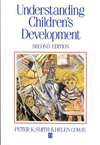 9780631177920: Understanding Children's Development (Basic Psychology)