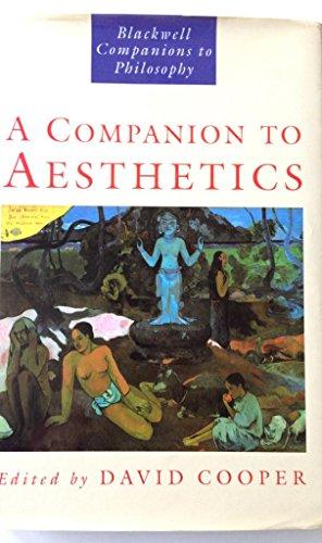 9780631178019: A Companion to Aesthetics: The Blackwell Companion to Philosophy (Blackwell Companions to Philosophy)