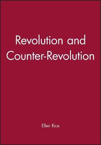 Revolution and Counter Revolution (Hardback)