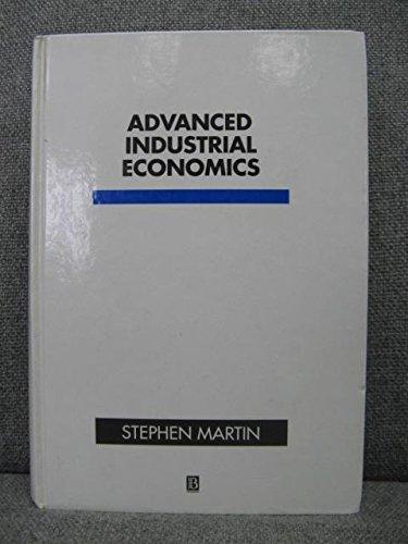 9780631178514: Advanced Industrial Economics