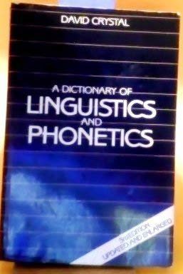 9780631178712: A Dictionary of Linguistics and Phonetics (Language Library)