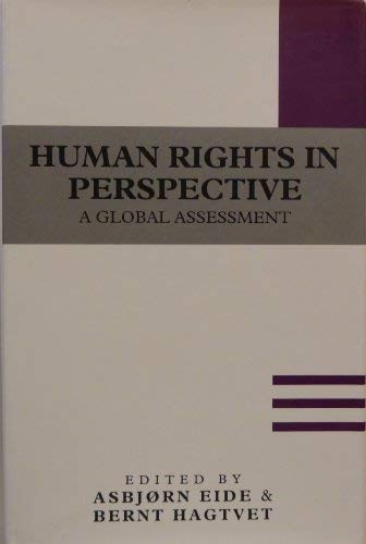 9780631178835: Human Rights in Perspective: A Global Assessment (Nobel Symposium, 74)