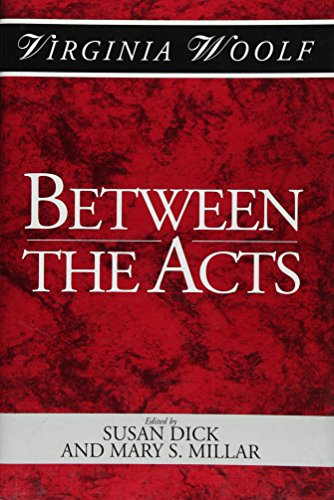 9780631178842: Between the Acts: A Shakespeare Head Press Edition of Virginia Woolf