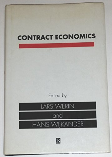 9780631178934: Contract Economics