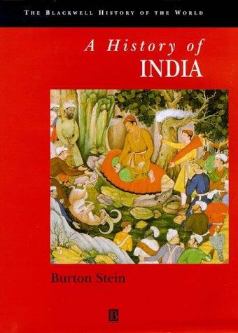 9780631178996: History of India (Blackwell History of the World)
