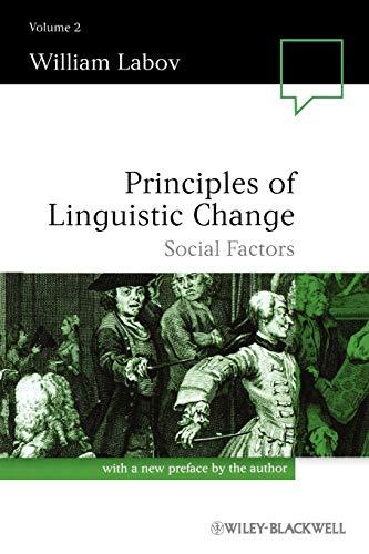 9780631179160: Principles of Linguistic Change: Social Factors: 2