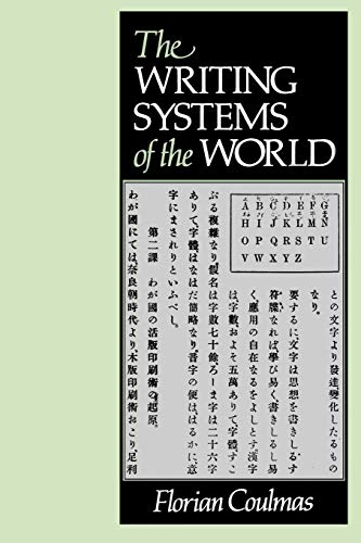 9780631180289: Writing Systems of the World (Language Library)