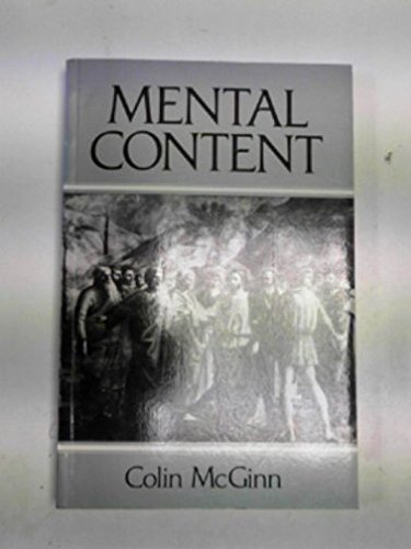 Mental Content: McGinn, Colin