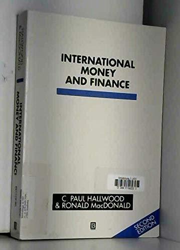 9780631181514: International Money and Finance