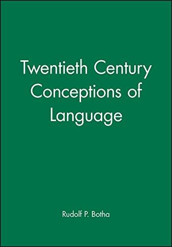 Twentieth-century Conceptions of Language: Mastering the Metaphysics Market (Hardback): Rudolf P. ...