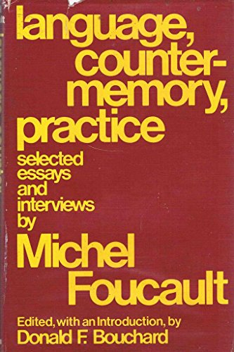 9780631182405: Language, Counter-memory, Practice: Selected Essays and Interviews