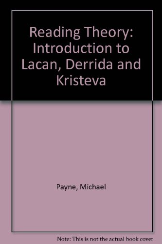 9780631182887: Reading Theory: Introduction to Lacan, Derrida and Kristeva