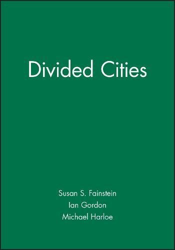 9780631183020: DIVIDED CITIES SUSC